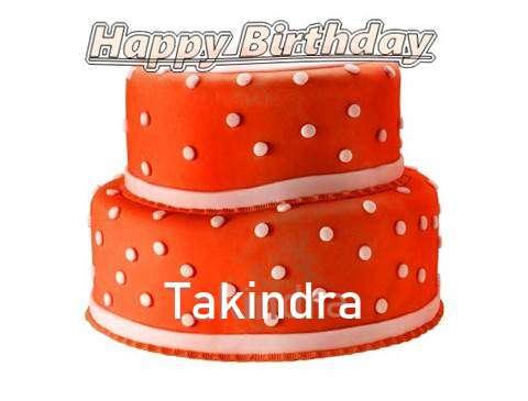Happy Birthday Cake for Takindra