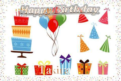 Happy Birthday Wishes for Takira