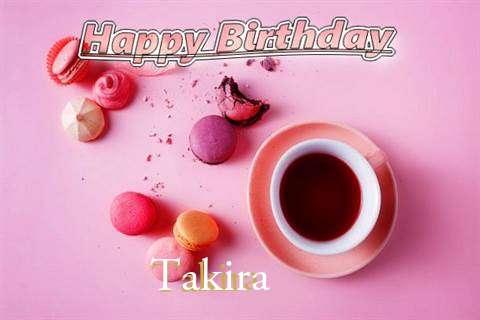 Happy Birthday to You Takira