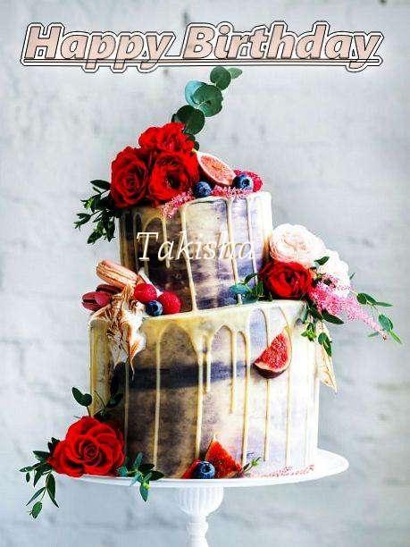Birthday Wishes with Images of Takisha
