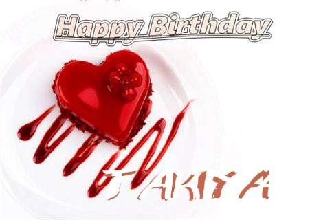 Happy Birthday Wishes for Takiya