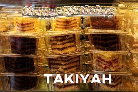 Happy Birthday to You Takiyah