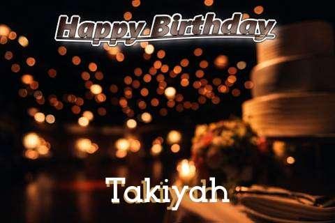 Takiyah Cakes