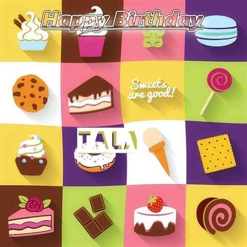 Happy Birthday Wishes for Tala