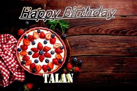 Happy Birthday Talan Cake Image