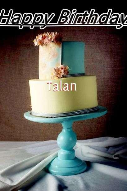 Happy Birthday Cake for Talan