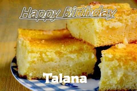 Happy Birthday Talana