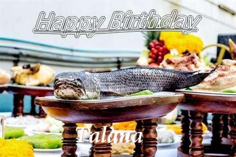 Talana Birthday Celebration