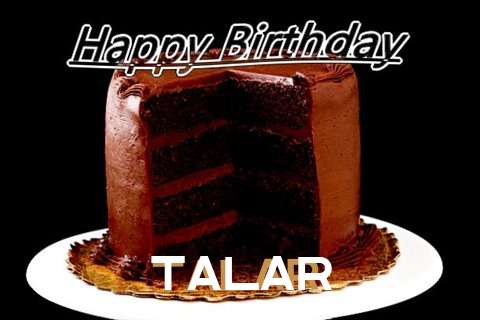 Happy Birthday Talar Cake Image