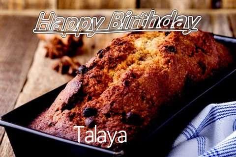 Happy Birthday Wishes for Talaya