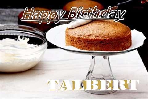 Happy Birthday to You Talbert