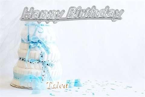 Happy Birthday Talea Cake Image