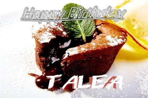 Happy Birthday Wishes for Talea