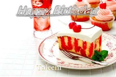 Happy Birthday Taleem