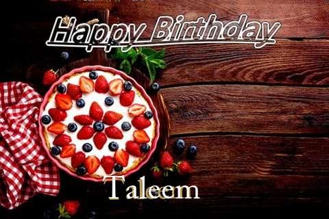 Happy Birthday Taleem Cake Image
