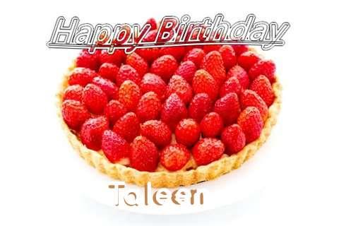 Happy Birthday Taleen Cake Image