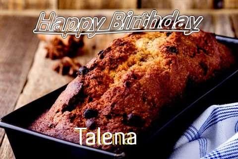 Happy Birthday Wishes for Talena