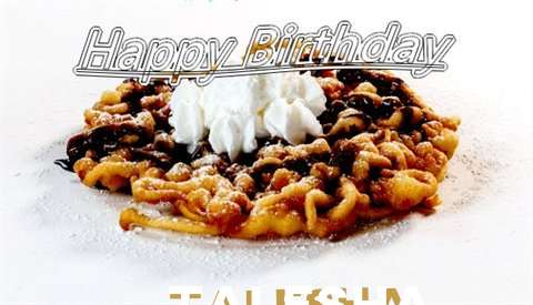 Happy Birthday Wishes for Talesha