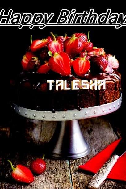 Happy Birthday to You Talesha