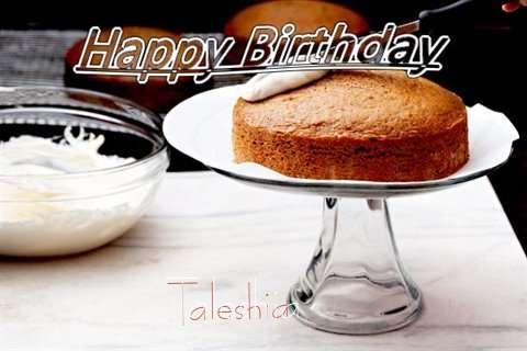 Happy Birthday to You Taleshia