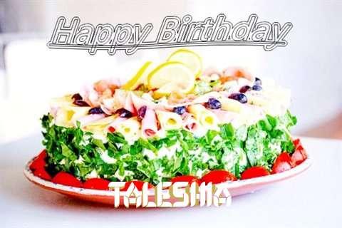 Happy Birthday Cake for Taleshia