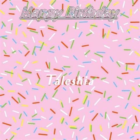 Taleshia Cakes