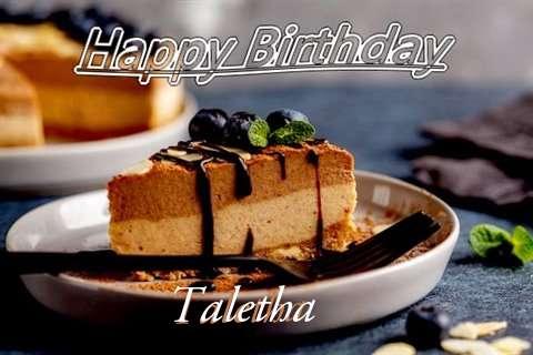 Happy Birthday Taletha Cake Image