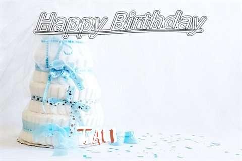 Happy Birthday Tali Cake Image
