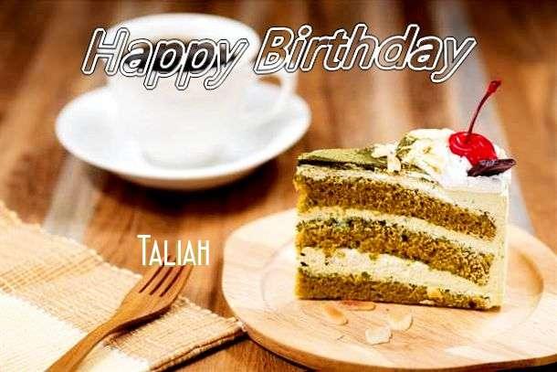 Happy Birthday Taliah