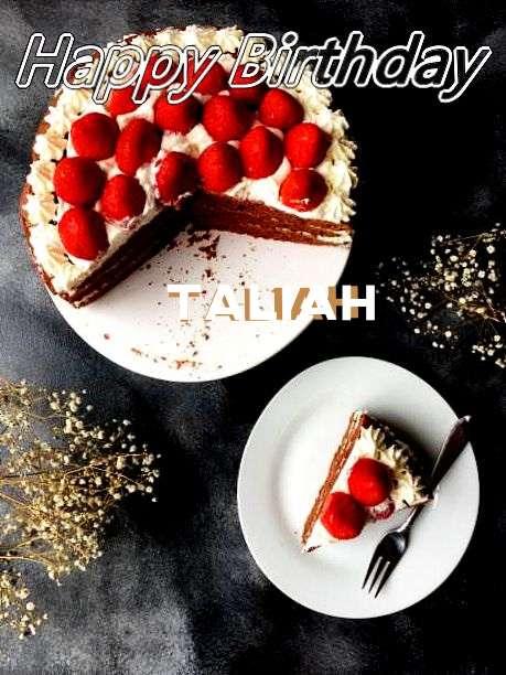 Happy Birthday to You Taliah