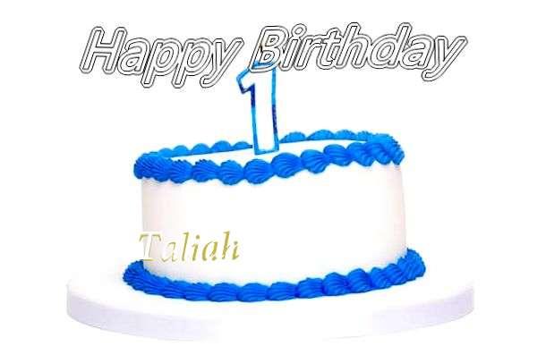 Happy Birthday Cake for Taliah