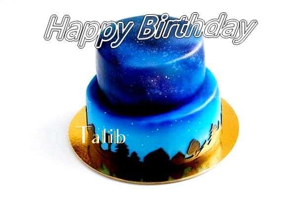 Happy Birthday Cake for Talib
