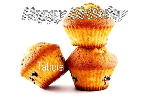 Happy Birthday to You Talicia
