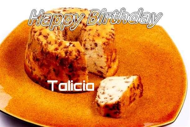 Happy Birthday Cake for Talicia
