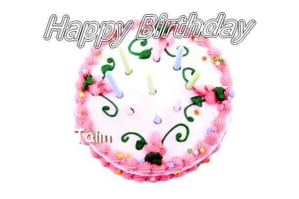 Happy Birthday Cake for Talim