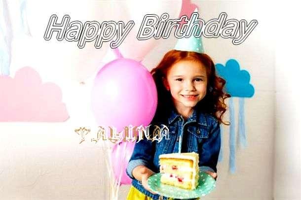 Happy Birthday Talina Cake Image