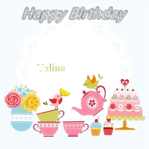 Happy Birthday Wishes for Talina