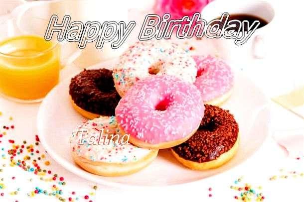 Happy Birthday Cake for Talina