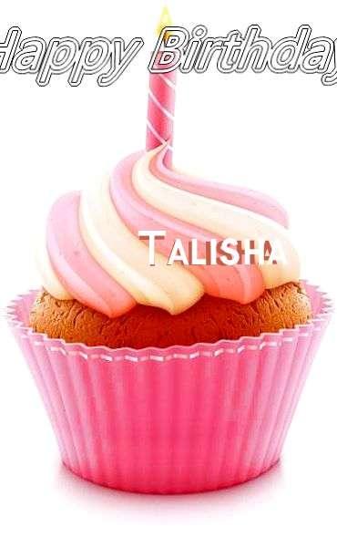 Happy Birthday Cake for Talisha
