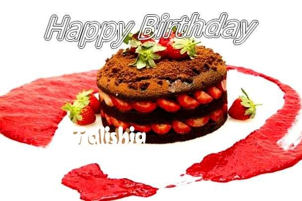 Happy Birthday Talishia Cake Image