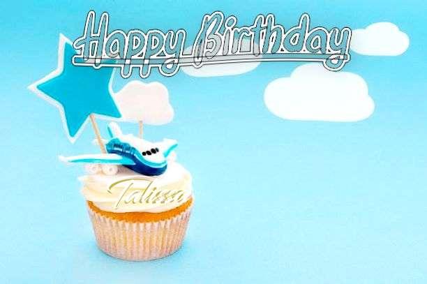 Happy Birthday to You Talissa