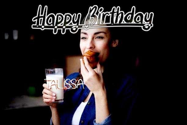 Happy Birthday Cake for Talissa