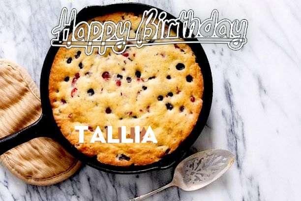 Happy Birthday to You Tallia