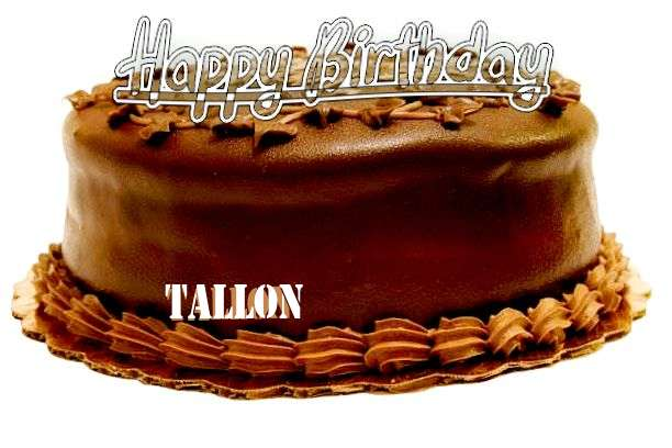 Happy Birthday to You Tallon