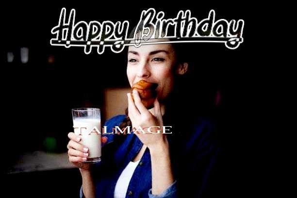 Happy Birthday Cake for Talmage