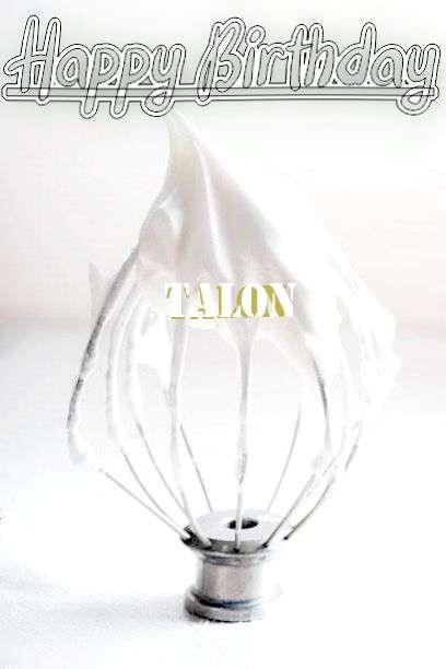 Happy Birthday Cake for Talon