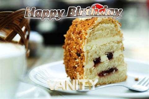 Happy Birthday Wishes for Vanity