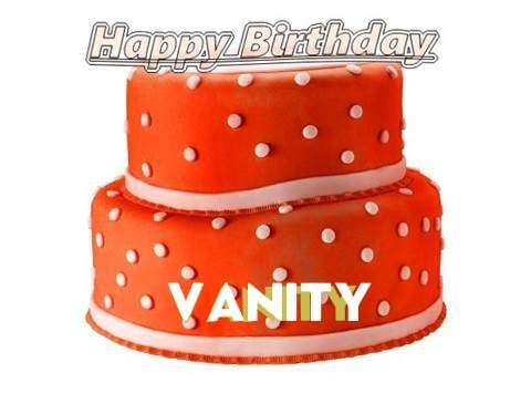 Happy Birthday Cake for Vanity