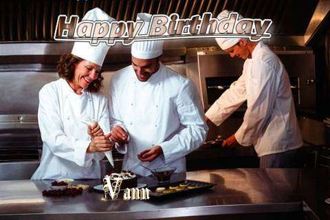Happy Birthday Cake for Vann