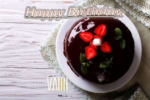 Vann Cakes